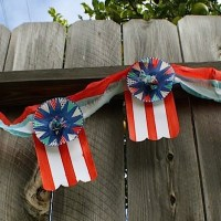 july 4th of july garland