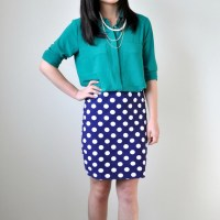 Summer Style: DIY Double-Layer Pencil Skirt