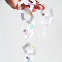 Party Perfect: Printable Pentagon Paper Chains