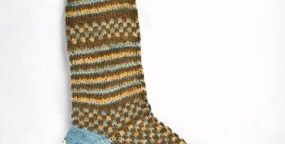 Flashback CRAFT Pattern: Parsimonious Toe Up Socks