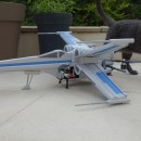 Impressive Star Wars X-Wing Foam Drone