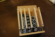 Make a Simple Wall-mounted Battery Organizer
