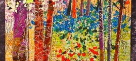 Quilts Become Canvases When the Threadwork Is This Beautiful