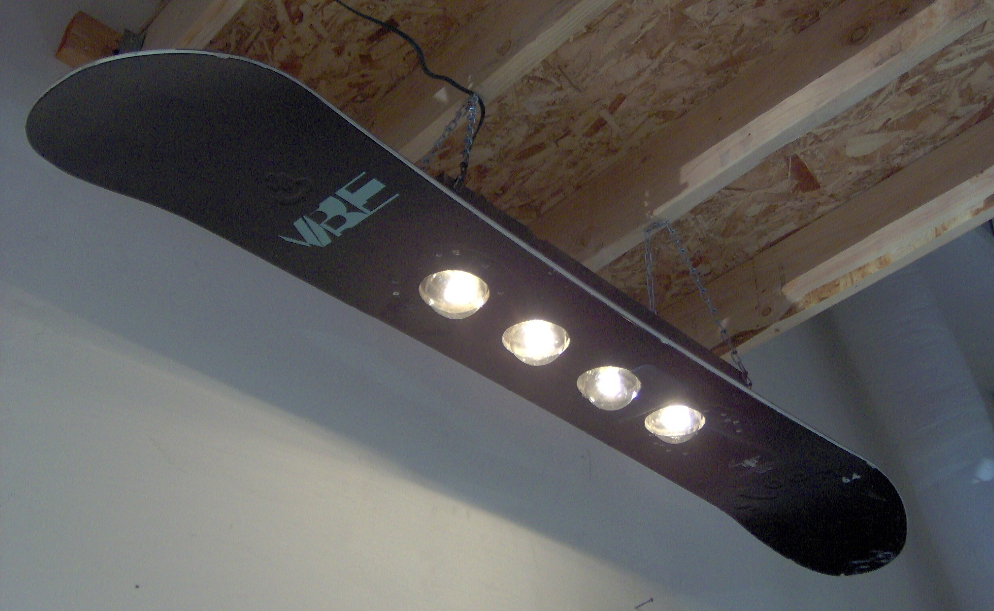 Snowboard Bank 6 Awesome Light Fixtures To Brighten Your Shop Make