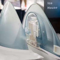 Team #20, the Ice House. The winner of the 3D Printed Habitat Challenge.