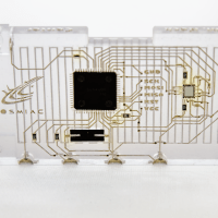 Payload Tested at COSMIAC for viability of 3D Printed Circuits. (Credit: COSMIAC)