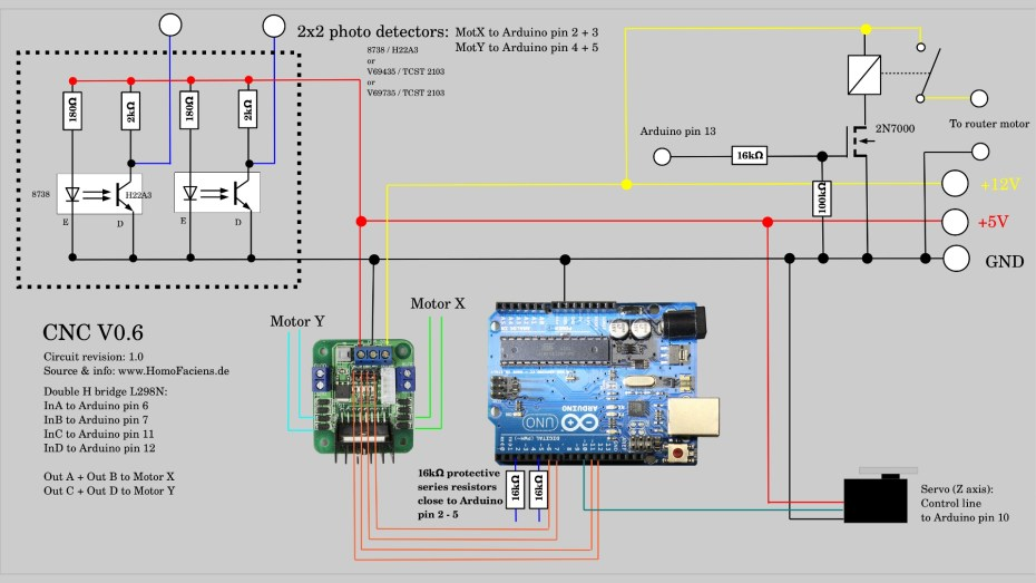 CNC V0.6 Wiring Diagram
