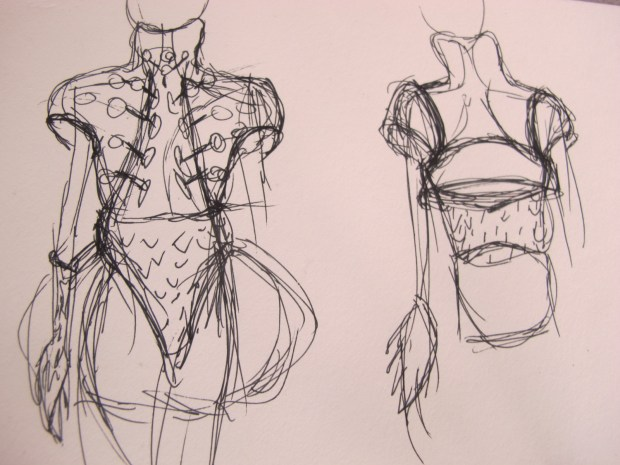Concepting for the AWE Goosebumps