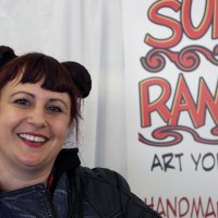 Amy Davis Roth of SurlyRamics.