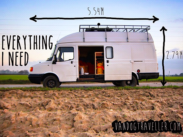 7 Vans Converted Into Tiny Homes On Wheels Make