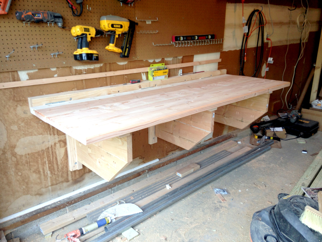 Building A Folding Shop Workbench Make