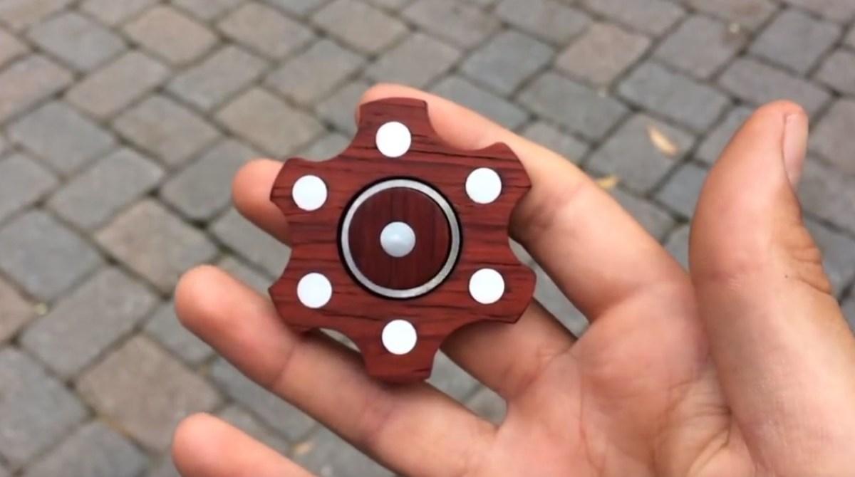 make fidget spinner