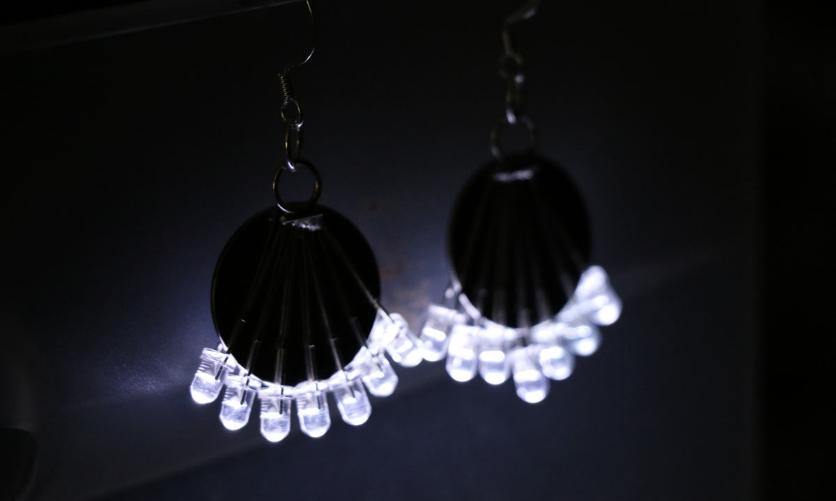 Led Earrings Light Up The Room With These Led Earrings Make