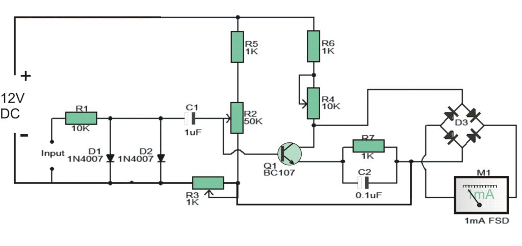 led tachometer circuit