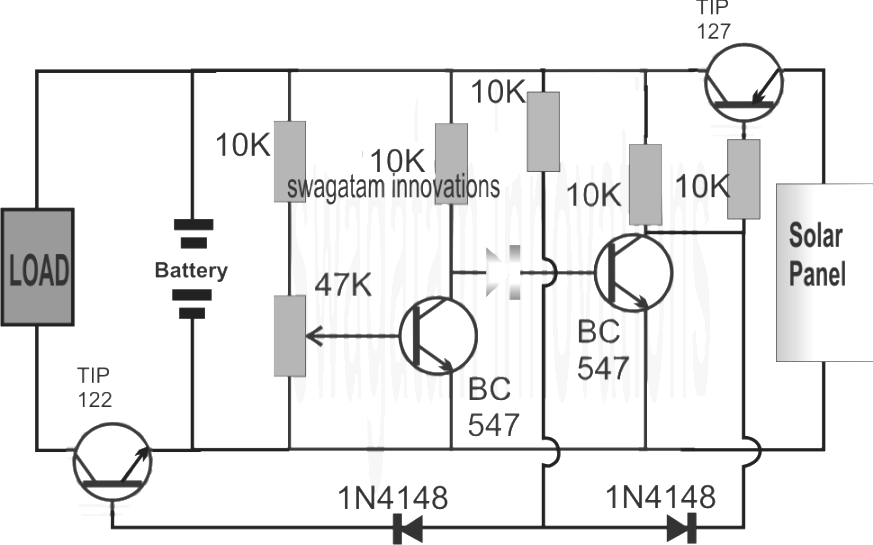 here is a easy to build low battery level indicator circuit