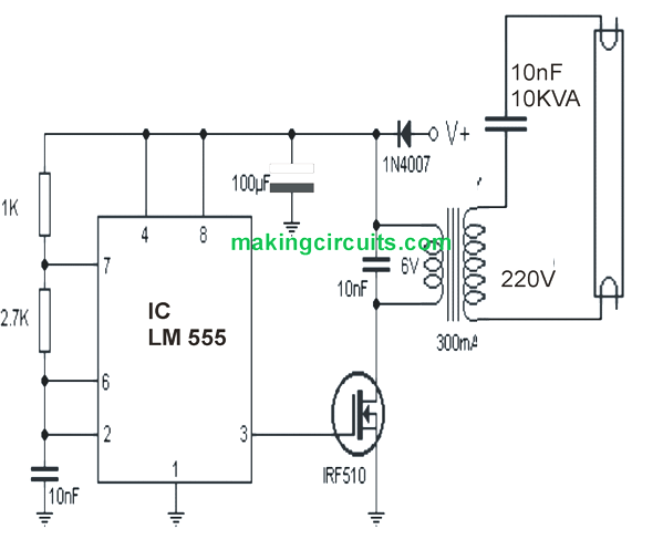 circuit driver diagram 6v fbl
