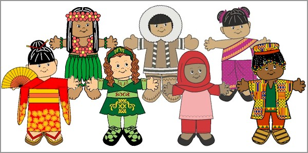 International Paper Doll Friends - MakingFriendsMakingFriends - paper doll template