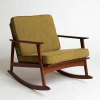 Mid-Century Rocker Chair - Making it Lovely