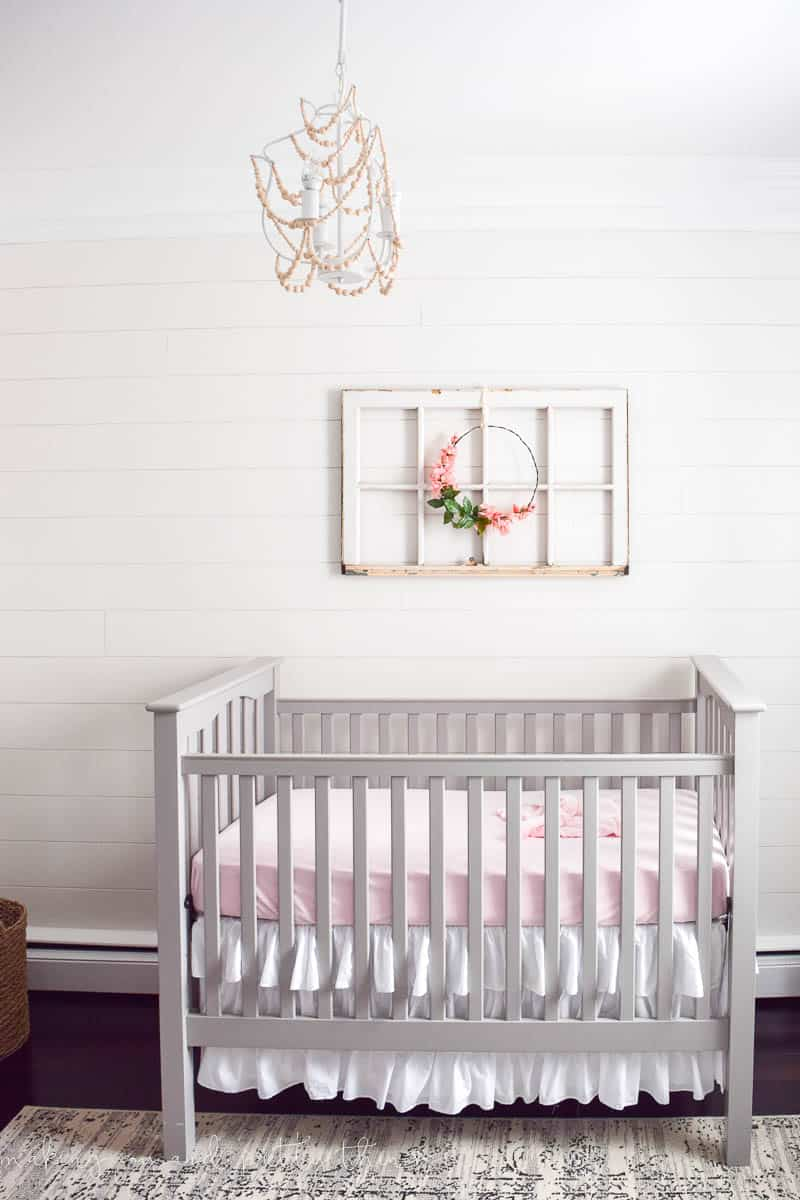 Nursery Themes For Girls Farmhouse Girls Nursery Reveal