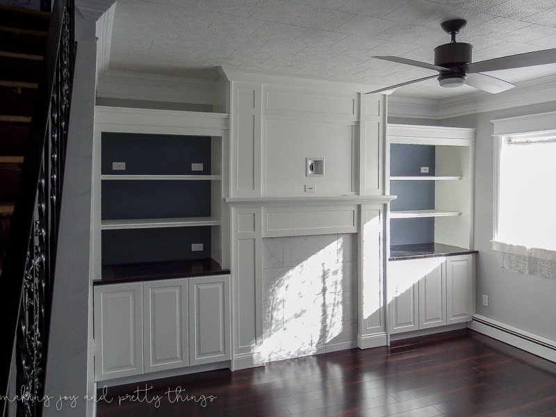 Kitchen Cabinet Door Fronts Only Ikea Hack: Kitchen Cabinets Turned Built Ins