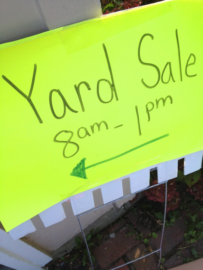 Garage Sale Price Stickers Tips For A Wildly Successful Yard Sale