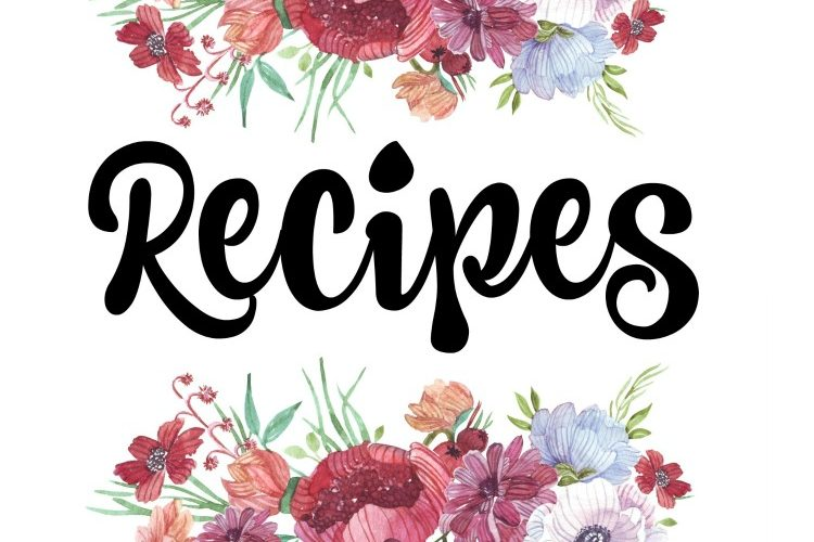 How to Organize Recipes (Free Printable Recipe Binder Covers)