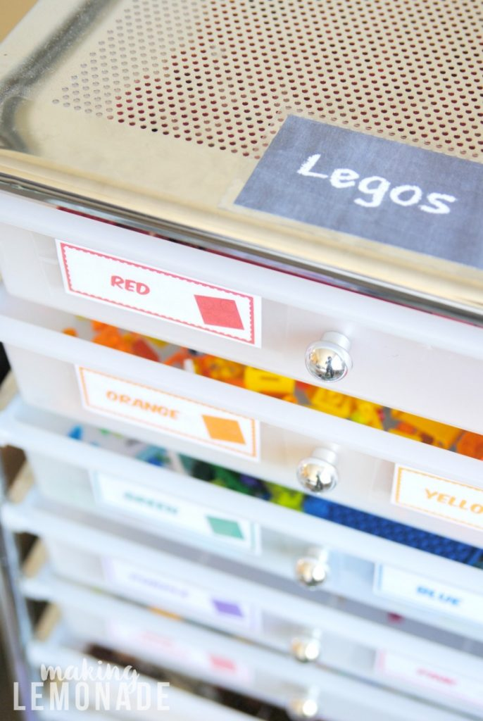 The Magical LEGO Organizing Solution  Free Printable Labels