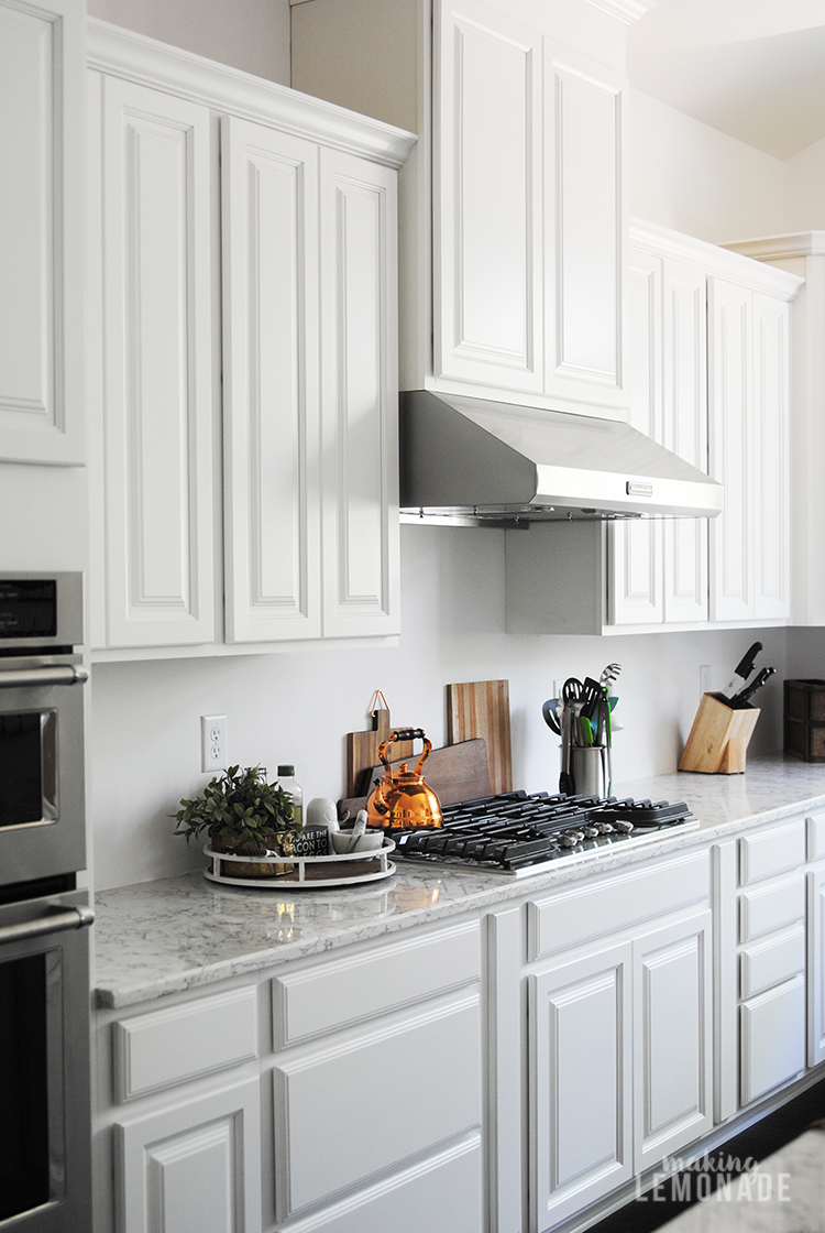 How To Update Kitchen Cabinets An Easy Kitchen Update That Makes A Huge Difference
