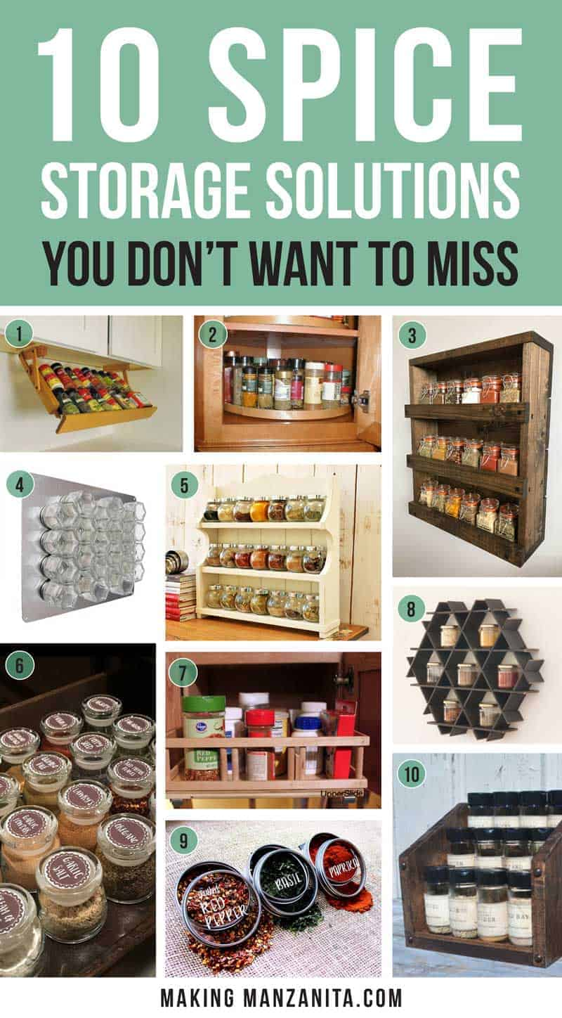 Storage Solutions Spice Storage Solutions You Don T Want To Miss Making Manzanita