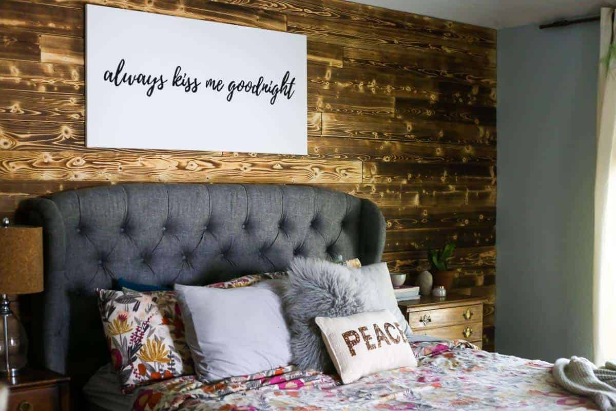 Wall Art Behind Bed 16 Designer Worthy Ideas For Over The Bed Decor Making