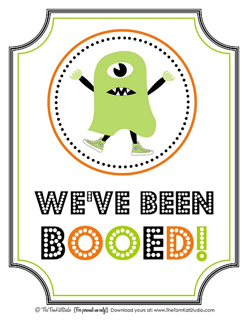 You\u0027ve Been Booed {With Free Printables} - Making Memories With Your