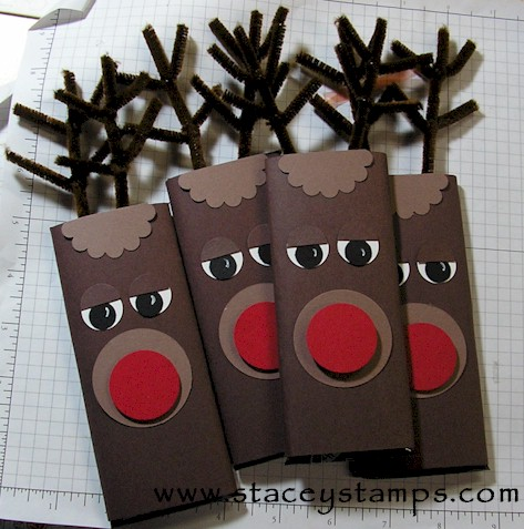 Christmas Candy Bar Wrappers - How Cute Are These??? - Making