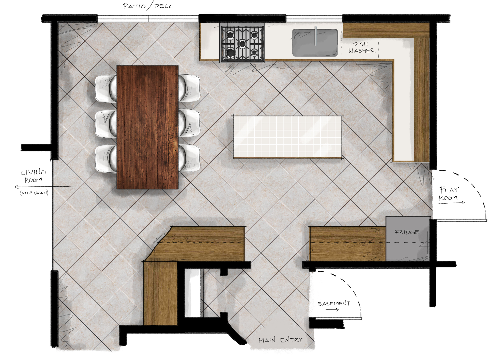 Kitchen Plans New Kitchen Plans Making Nice In The Midwest