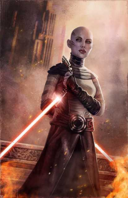 Sexiest Woman in Star Wars Poll Asajj