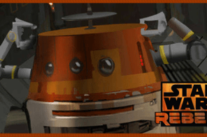 "Star Wars Rebels Press Conference: Artoo and Threepio's ""pre-show"" appearance! ."
