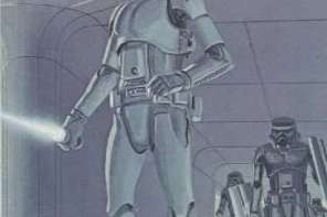 Exclusive Photos of a Stormtrooper on the set of Star Wars: Episode VII!