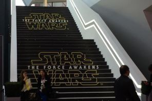 Star Wars: The Force Awakens ad pics from Nurnberg, Germany's trade Toy Fair!