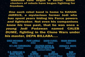 Five-Page Preview of Kanan: The Last Padawan