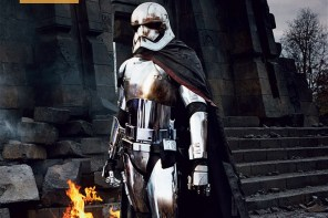 Captain Phasma photo from Vanity Fair!
