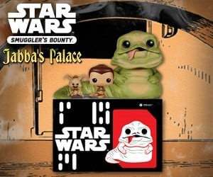 Funko's Star Wars Smuggler's Bounty Jabba's Palace Unboxing!