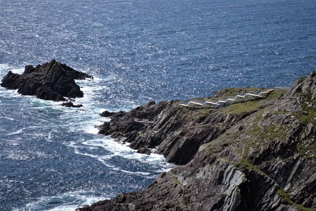 Beautiful video and photos of Star Wars: Episode VIII's Dunmore Head location!