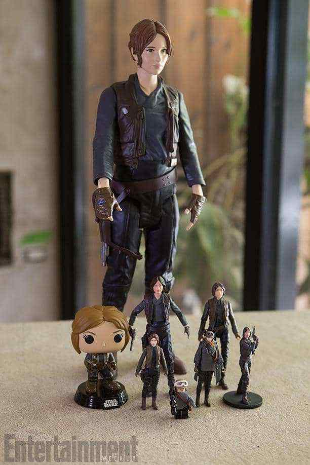 A first look at Jyn Erso toys from Rogue One: A Star Wars Story