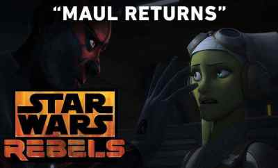 Star Wars Rebels: Darth Maul returns clip!