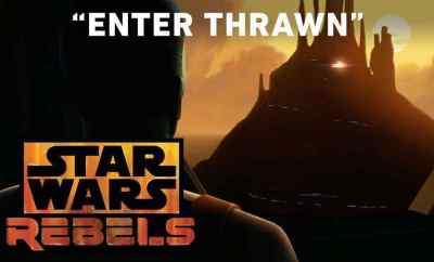 """Star Wars Rebels season 3 """"Enter Thrawn"""" trailer!"""
