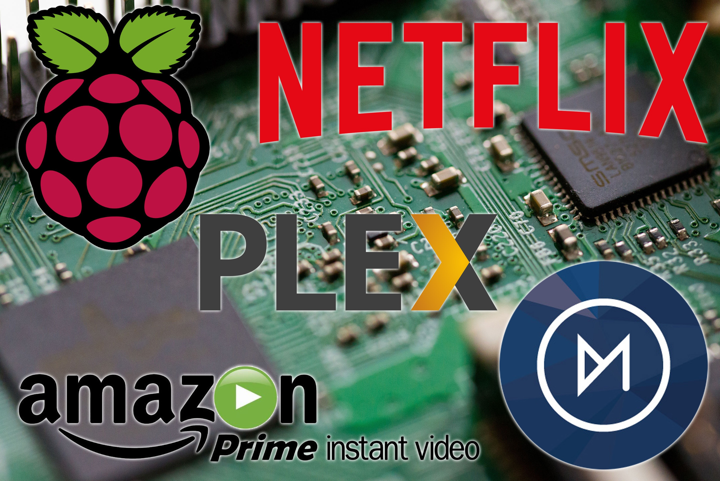Einrichten Netflix Install Netflix Amazon Prime Video And Plex On The Raspberry