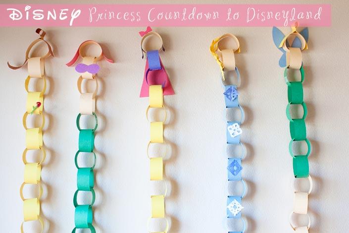Disney Princess Disneyland Countdown