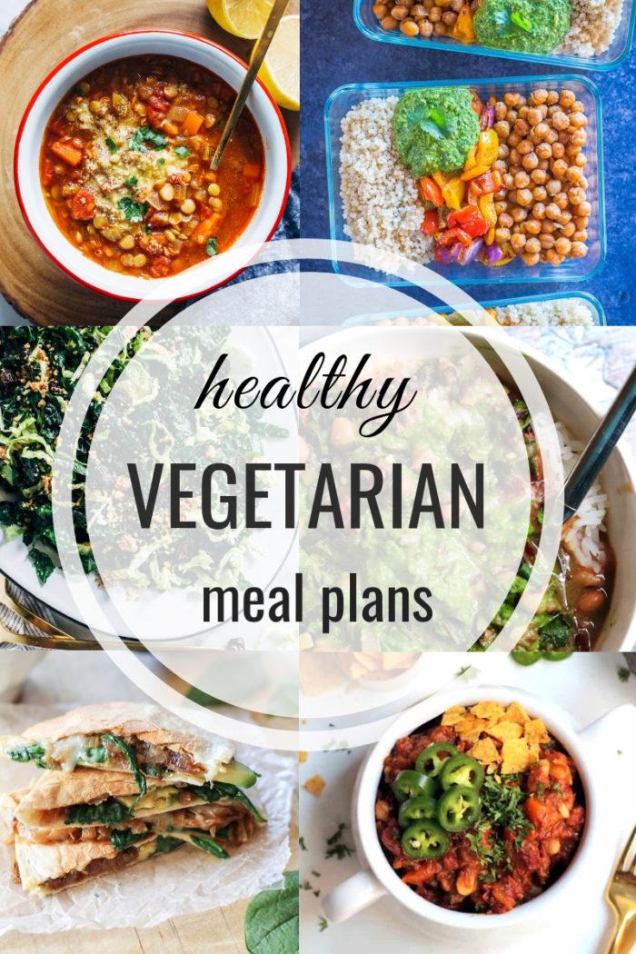 Healthy Vegetarian Meal Plan Week of 3-2-19 - Hummusapien