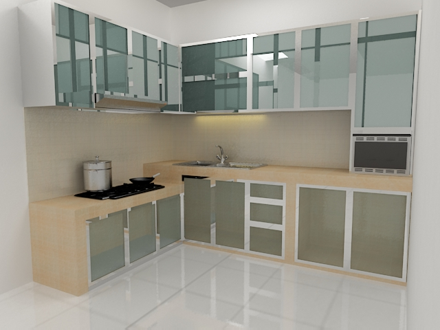 Model Handle Pintu Rumah Minimalis Kitchen Set | Makmur Aluminium