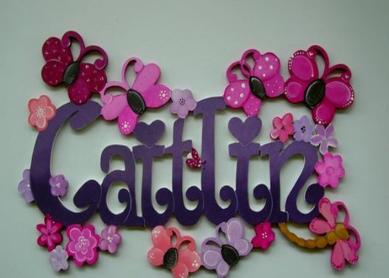 Personalized Name Signs For Kids From Fantasy Creations