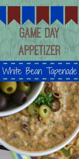 White Bean Tapenade Appetizer